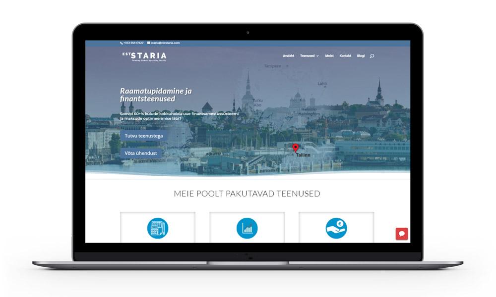 eststaria.com sülearvuti vaade