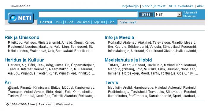 eesti otsingumootorid